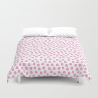Dots Pink Duvet Cover