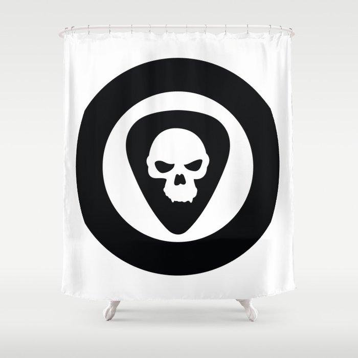 Punk Rock Ska Shower Curtain