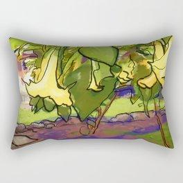 Healing Flowers Rectangular Pillow