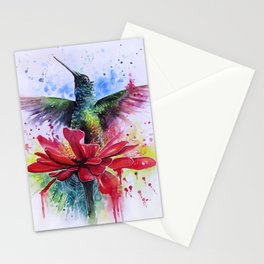 Rising from a Flower Stationery Cards