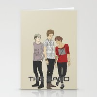"""band Stationery Cards featuring """" THE Band """" by Karu Kara"""