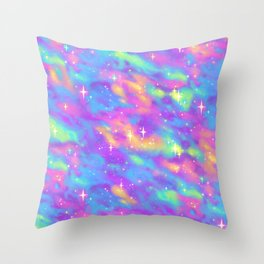 Pastel Galaxy Throw Pillow