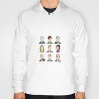 mad men Hoodies featuring Mad Men by Steven Learmonth