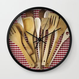 Kitchen utensil Wall Clock