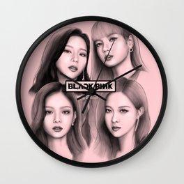 Blackpink FanArt Wall Clock