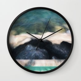 Remnants of Winter Wall Clock