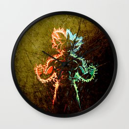 art son goku power Wall Clock