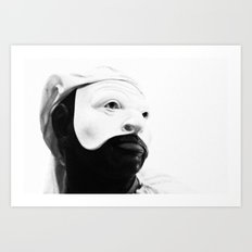 italy - naples - traditional mask_03 Art Print