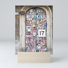 Piazza Duca di Genova 17 in Catania - Sicily Mini Art Print