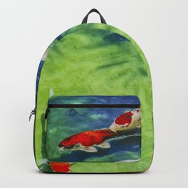 Fish watercolor IV Backpack