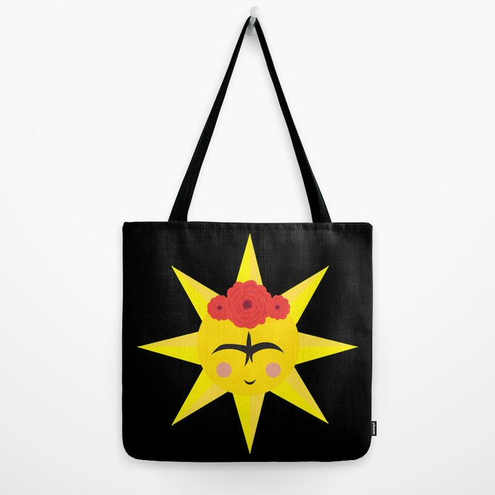 VIDA Tote Bag - triangles by VIDA