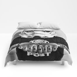 Knuckle Up Comforters