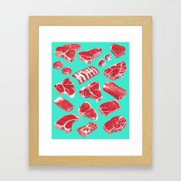 MEAT MARKET, by Frank-Joseph Framed Art Print