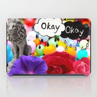okay iPad Cases featuring okay... by Aldo Couture