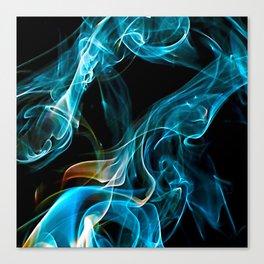 Smoke and Steam Canvas Print