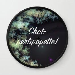 Chatperlipopette! Wall Clock