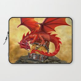 Red Dragon's Treasure Chest Laptop Sleeve