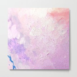 Abstract Pastels Metal Print