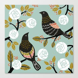 Winterbirds Canvas Print