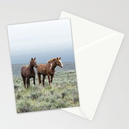 Wild Horses - Steens No. 1 Stationery Cards