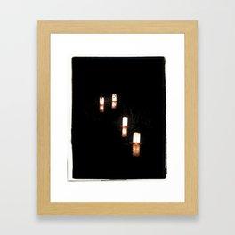 Lanterns of Healing (Japan) Framed Art Print