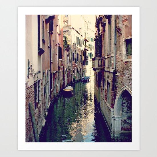 Venezia. Art Print