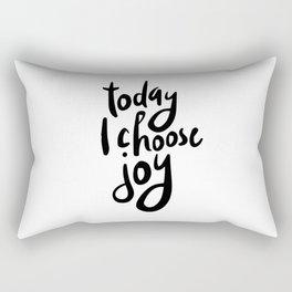 Today i choose joy Rectangular Pillow