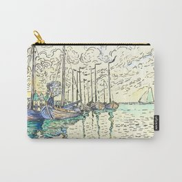 "Paul Signac ""Volendam, barques"" Carry-All Pouch"