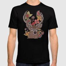 Hello my Deer Black MEDIUM Mens Fitted Tee