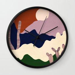 Intangible Land Wall Clock