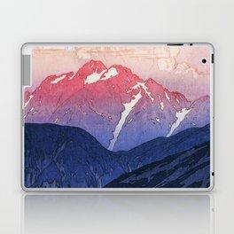 Japan Alps 12, Tsurugi Mountain Morning - Digital Remastered Edition Laptop & iPad Skin