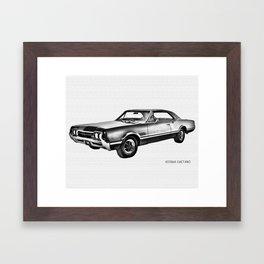 Olds-Mobile Framed Art Print