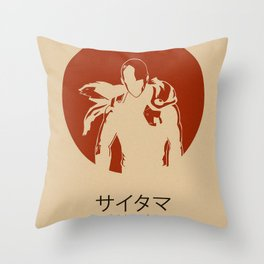 OnePunchMan Throw Pillow