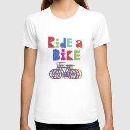 Ride a Bike - Sketchy T-shirt