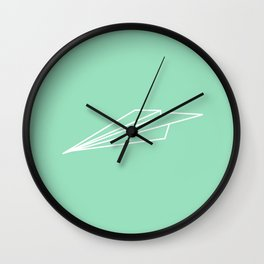 Paper Airplane - You Can Fly - Graphic - Julep (1 of 3) Wall Clock
