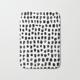 Watercolor Dots Bath Mat