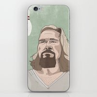 lebowski iPhone & iPod Skins featuring Lebowski by Hero of Switzwerland / Dan Button //
