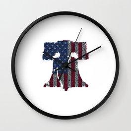 Liberty Bell Wall Clock