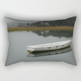 One Lone Dinghy Rectangular Pillow