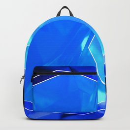 Blue crystal Backpack