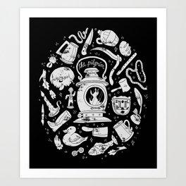 Songs of the Dark Lantern Art Print