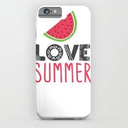 Love Summer iPhone Case