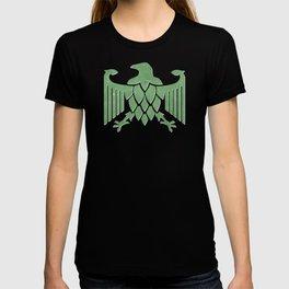 German Hop Eagle Green T-shirt