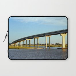 Bridge To The Sea Laptop Sleeve