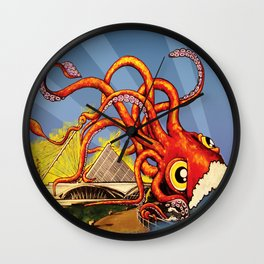 MILWAUKEE: What's Kraken, Milwaukee? Wall Clock