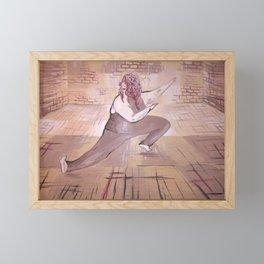 Hatha yoga for all. Framed Mini Art Print