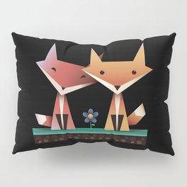 Loving Foxes Pillow Sham