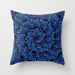 Spiraling Out Throw Pillow