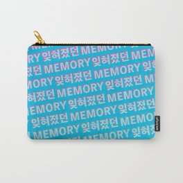 The Forgotten Memory - Typography Carry-All Pouch