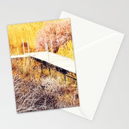 Stepping Down To The Golden World - From 'King Midas series' Stationery Cards